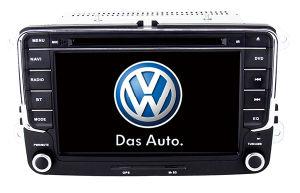 Wince 6.0 Mtk3360 Solution Auto GPS for VW Sagitar Bora Cc Jetta Magotan Touran with Bluetooth FM Am USB DVD iPod DVB-T