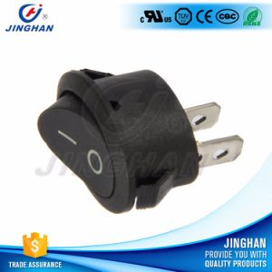 High Quality Kcd1-311 Oval Rocker Switch with Light/Without Lamp T85 pictures & photos