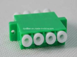 LC Quad Fiber Optical Adapter 4core pictures & photos