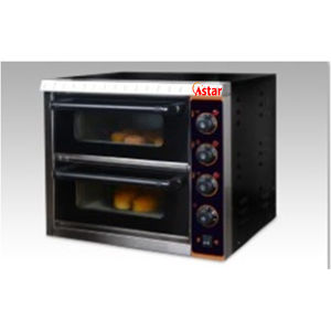 2 Decks Commercial Electric Pizza Oven Food Proccessor Pizza Baking Oven pictures & photos