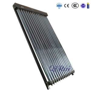 High Efficiency Antifreeze Vacuum Solar Heat Pipe Collector with Solar Keymark for Solar Water Heating pictures & photos