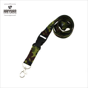 Camouflage Lanyard with Metal Lobster Hook and Release Buckle pictures & photos