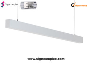 IP65 50W Waterproof White LED Vapor Tight Linear Fixtures with Ce RoHS pictures & photos