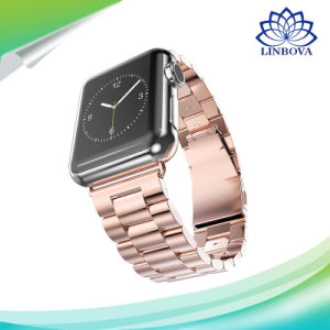 Stainless Steel Watch Band for Iwatch Apple Watch Band Strap Link Bracelet Accessories 38mm 42mm Classical Lock with Adapter pictures & photos