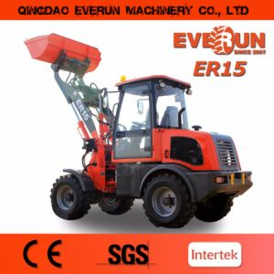 Everun 2017 Er15 Ce EPA Compact Wheel Loader Mini Front End Loader pictures & photos