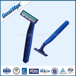 High Quality Twin Blade Disposable Shaving Razor Stainless Steel pictures & photos