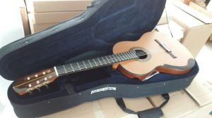 Aiersi Brand Master Concert Double Top Smallman Classical Guitar (SC098SPFD) pictures & photos