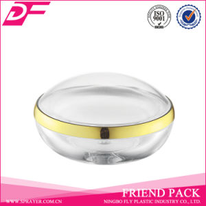 New Design Luxury Plastic Acrylic Crystal Cosmetic Packaging Cream Jars