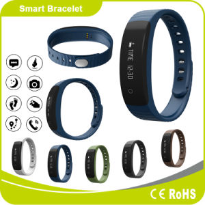 Pedometer Sleeping Monitor Distance Measure Calorie Burning Measure Message Phone ID Notification Smart Bracelet pictures & photos