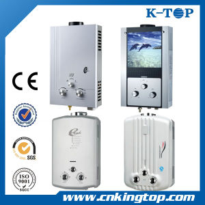 12L White Panel Gas Water Heater with CE pictures & photos