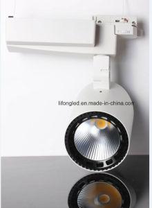 High Quality White & Black LED Down Tube Track Light, 35W COB Track Light pictures & photos