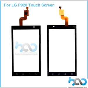 Phone Touch Screen Panel for LG P920 Black and White