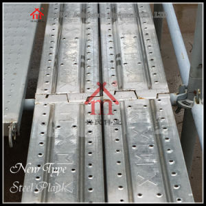 Construction Steel Scaffolding Plank pictures & photos