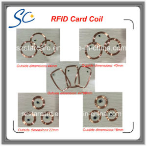 Professional supplier Lf/Hf Smart IC ID Card Coil pictures & photos