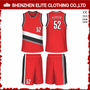 Custom Made Sportswear Wholesale Sublimation Basketball Jersey (ELTBNI-17) pictures & photos