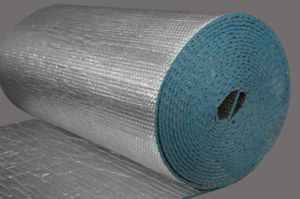 Closed Cell Polyethylene Foam Flooring Underlayment Foam with Aluminum Foil pictures & photos