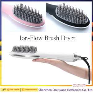 Interchangeable Dryer Styler Rotating Electric Rolling Hair Brush pictures & photos