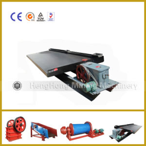 Recovery Gold Shaking Table for Gold Dressing Plant pictures & photos