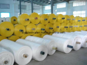 White PP Woven Tubular Fabric for Bag pictures & photos