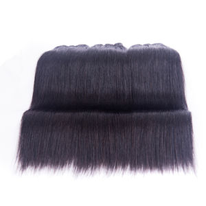 Whole Price Peruvian Virgin Human Hair Silky Straight Hair Extensions pictures & photos