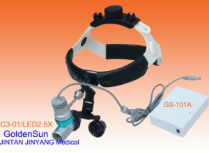 Galilean Dental Surgical Loupes with LED Head Light pictures & photos
