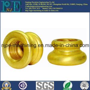 OEM Precision CNC Machining Brass Female Thread Nipple pictures & photos