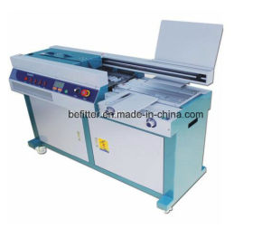 55H-A4 320mm automatic glue binding machine pictures & photos