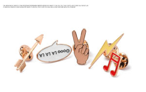 Ibest Fashion Color Enamel Brooches&Pins Music Sign Lovely Note Lapel Pins Set Arrow Lightning Women Jewelry Brooch Pin Set Gift Zjp1600 pictures & photos