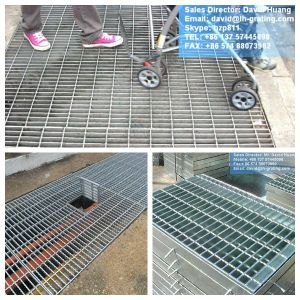 Galvanized Steel Grating Walkway Cover pictures & photos