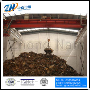 75% Duty Cycle Scrap Lifting Electromagnet for Rolling Mill Scrap Lifting MW5-130L/1-75 pictures & photos