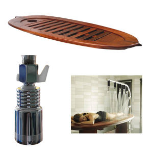Hot Sale Stainless Steel Multi Body Shower SPA Wooden SPA Bed Massage pictures & photos