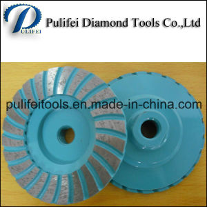 Metal Bond Wet Use Diamond Grinding Wheel for Concrete Floor pictures & photos