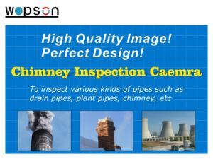 Wopson 20/40m Pan Tilt Chimney Inspection Camera for Plumbing Work pictures & photos