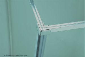 Extended Length Pivot Hinge 6mm Glass Semi-Framed Shower Door pictures & photos