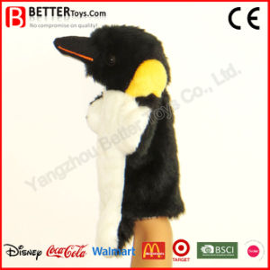 Baby Kids Children Plush Toy Stuffed Penguin Hand Puppet pictures & photos