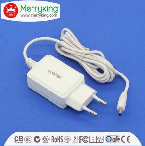 12V1000mA AC/DC EU Plug Power Adapter with Ce, GS Cert pictures & photos