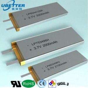 Wholesale 3.7V 2200mAh Li-Polymer Rechargeable Battery for LED Light pictures & photos