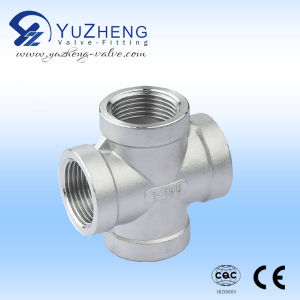 Stainless Steel 316 NPT Cross Fitting pictures & photos