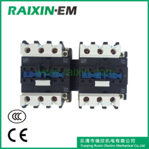 Raixin Cjx2-40n Mechanical Interlocking Reversing AC Contactor pictures & photos