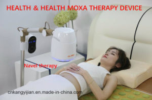 New Arrival 360 Degree Revolve Vertical Smokeless Moxibustio/Moxa Electric Machine pictures & photos