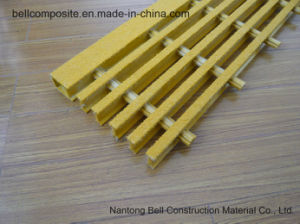 FRP/GRP Pultruded Gratings, T-5020, 50*25.4*50.8*25.4mm pictures & photos