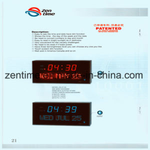 Hot Design LED Digital Wall Clock for Home Decoration pictures & photos