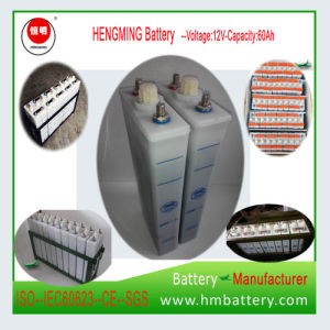 Nickel Cadmium Alkaline Battery/Ni-CD Battery 1.2V 60ah for Telecommunications pictures & photos