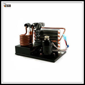 High Integration DC Condenser Unit with Miniature Compressor for Mini-Chilled Water System pictures & photos