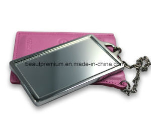 Beauty Metal Mirror with Key Chain L′oreal Audit Make up Mirror BPS0116 pictures & photos