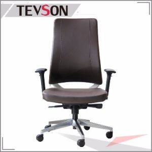 Leather Classical Swivel Aluminium Eames Manager Hotel Office Boss Chair (DHS-B220) pictures & photos
