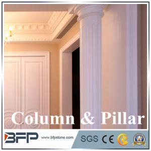 China Beige Marble Popular Roman Pillar pictures & photos