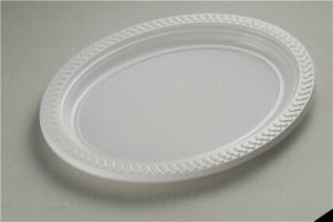 Shape 4 Easylife Various Disposable PS Plastic Round Plate pictures & photos