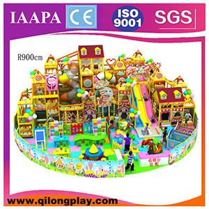 2016 New Customized Good Quantity Indoor Palyground, Wenzhou Hot Sale Playground with Trampoline Doll House pictures & photos