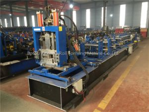 C & Z Purlin Steel Interchangeable Roll Forming Machine pictures & photos